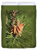Sprintime Pine Duvet Cover