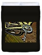 Sprocket And Chain Duvet Cover
