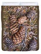 Spruce Cones Duvet Cover