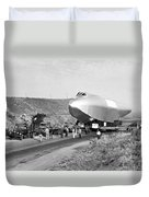 Spruce Goose Hull On The Move Duvet Cover