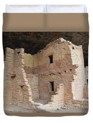 Spruce Tree House Structure Duvet Cover
