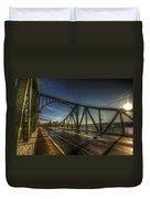 Spy Bridge Duvet Cover