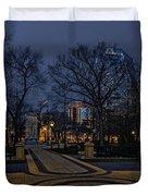 Square In Regina Duvet Cover