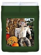 Square Scarecrow Duvet Cover