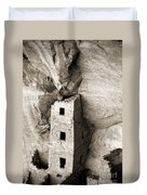 Square Tower House Duvet Cover