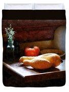 Squash And Tomato Duvet Cover