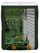 Squash Blossoms Duvet Cover