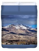 Squaw Butte Duvet Cover