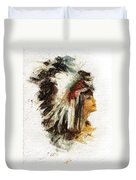 Squaw Duvet Cover