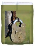 Squire Brass Lock Duvet Cover