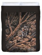 Squirrel-ly Duvet Cover
