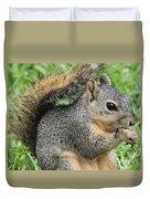 Squirrel Thief Duvet Cover
