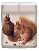 Squirrels Duvet Cover