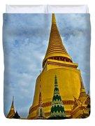 Sri Lanka Pagoda At Grand Palace Of Thailand In Bangkok Duvet Cover