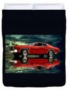 Chevelle 454 Duvet Cover