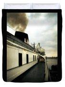 S.s. Badger Car Ferry Duvet Cover