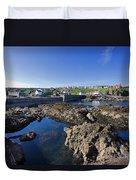 St Abbs Scotland Duvet Cover