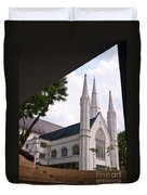 St. Andrews Cathedral Duvet Cover
