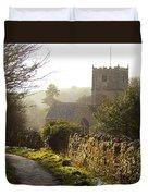 St Andrew's Church Clevedon Duvet Cover