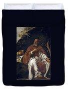St Anthony Abbot Duvet Cover
