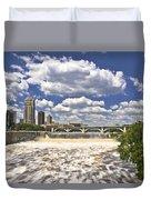 St. Anthony Falls 1 Duvet Cover