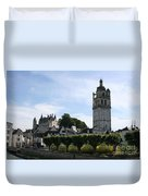 St. Antoine Tower And The Chateau De Loches Duvet Cover