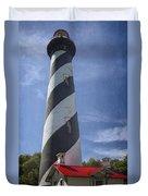 St Augustine Lighthouse Duvet Cover
