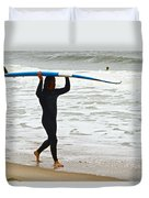 St Augustine Surfer Four Duvet Cover