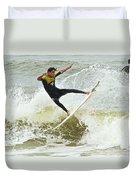 St Augustine Surfer Two Duvet Cover