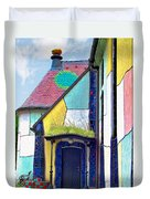St Barbara Church - Baernbach Austria Duvet Cover by Christine Till