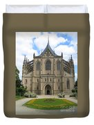 St Barbaras Cathedral Kutna Hora Czech Republic Duvet Cover