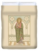 St Bartholomew Duvet Cover by English School