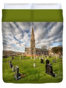 St Beuno Church Duvet Cover by Adrian Evans