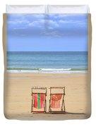 St Brelade's Bay - Jersey Duvet Cover