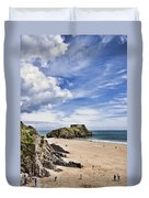 St Catherines Island 1 Duvet Cover