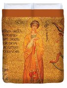 St Cecilia  Duvet Cover by Philip Ralley