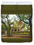 St. Charles Ave. Mansion Paint Duvet Cover