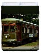 St. Charles Streetcar  Duvet Cover