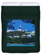 St. David's Light Bermuda Duvet Cover