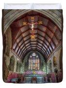 St David's Duvet Cover by Adrian Evans
