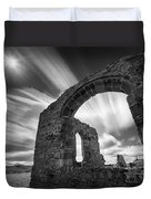 St Dwynwen's Church Duvet Cover by Dave Bowman