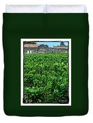 St. Emilion Winery Duvet Cover