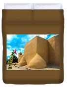 St. Francis D'asis Ranchos De Taos New Mexico Duvet Cover