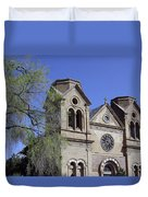 St. Francis Of Assisi Church Duvet Cover