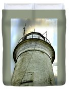 St. George Island Lighthouse 2 Duvet Cover