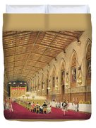 St Georges Hall At Windsor Castle Duvet Cover