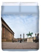 St Georges Hall, Liverpool, Merseyside Duvet Cover