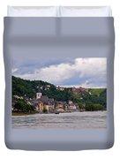 St Goar Am Rhein Duvet Cover