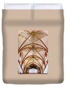 St Goar Organ And Ceiling Duvet Cover