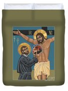 St. Ignatius And The Passion Of The World In The 21st Century 194 Duvet Cover